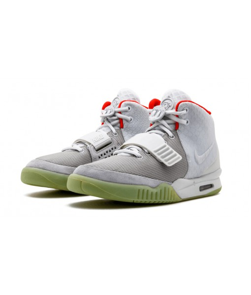 Nike Air Yeezy 2 Nrg Shoes Pure Platinum Replica For Sale